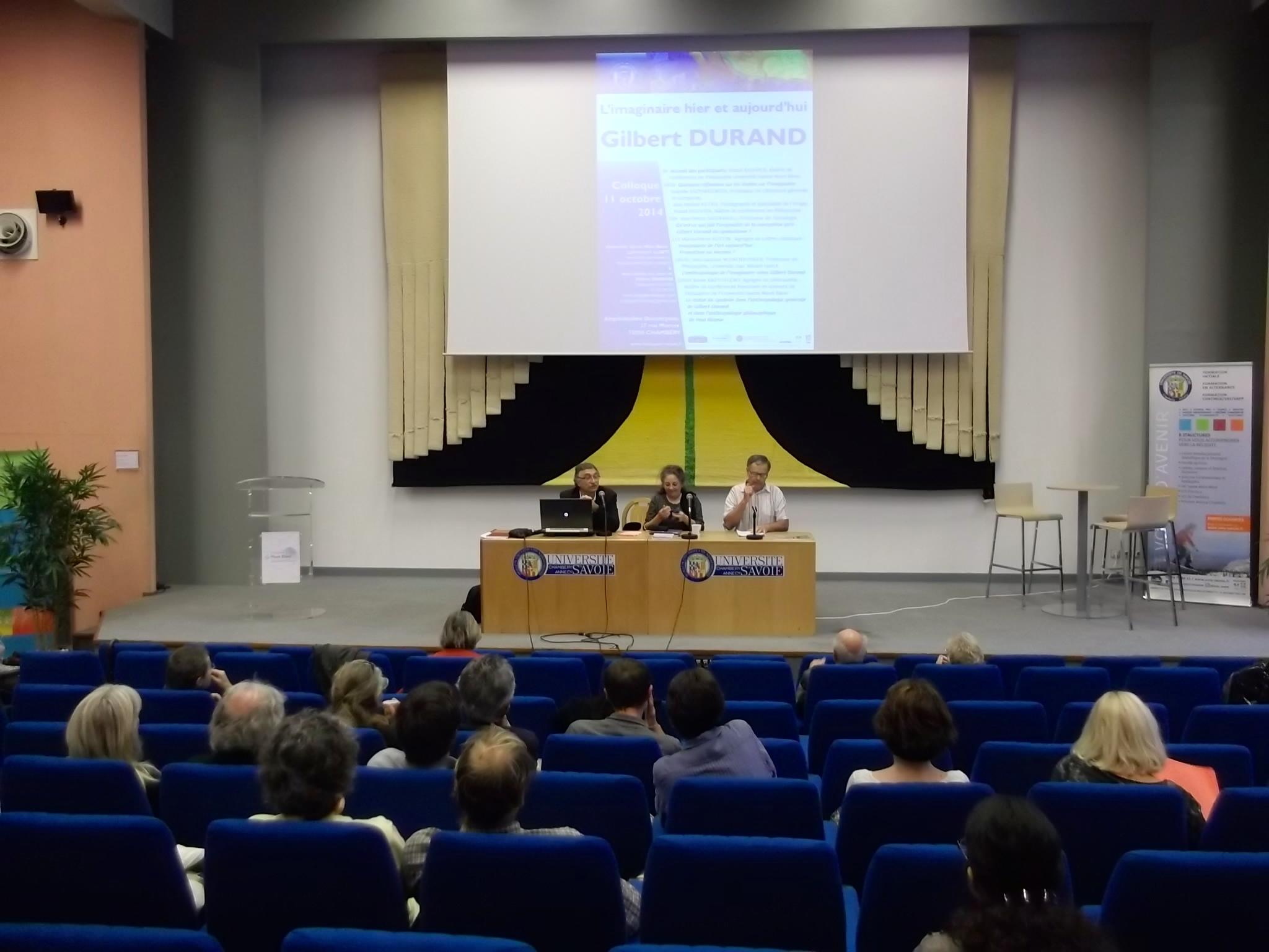 De gauche à droite : Pascal Bouvier, Isabelle Krzywkowski, Jean Michel Hetru