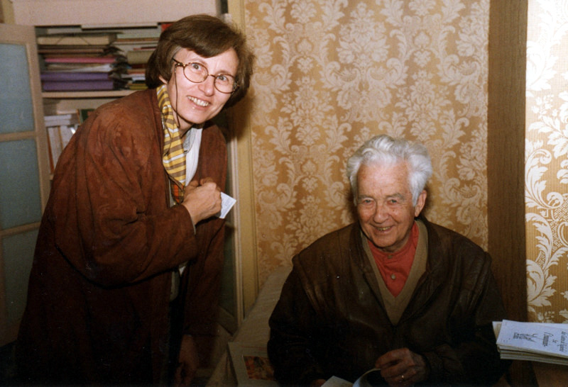 Maria Pia Rosati e Gilbert Durand