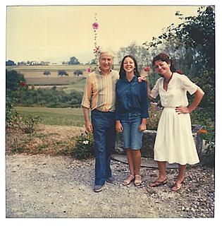Françoise Bonardel et Gilbert Durand, lorsqu'elle faisait sa thèse